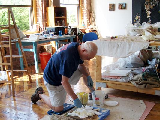 Doug in Studio, 2012