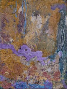 Ancient Wall, 2016, Mixed Media, 16x12